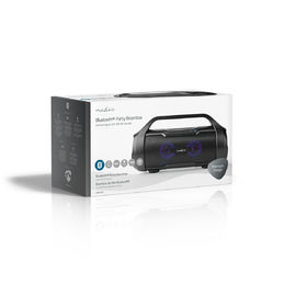 Party Boombox | 60W | Bluetooth® | TWS | LED valot | musta