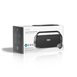 Nedis Party Boombox | 90W | bluetooth® | TWS | musta