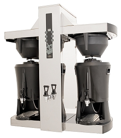Coffee Queen Single Tower kahvinkeitin 2x5 L