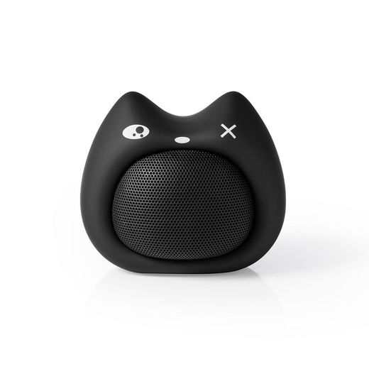 Nedis Animaticks Kelly Kitten bluetooth® kaiutin | 9 W | mikrofoni | musta